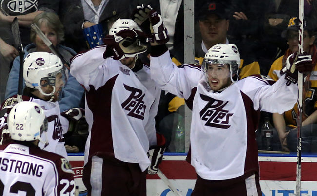 OHL: Peterborough Petes' Hunter Garlent Galvanized After Father's Passing: 'Every Shift That I Play, It's For Him'