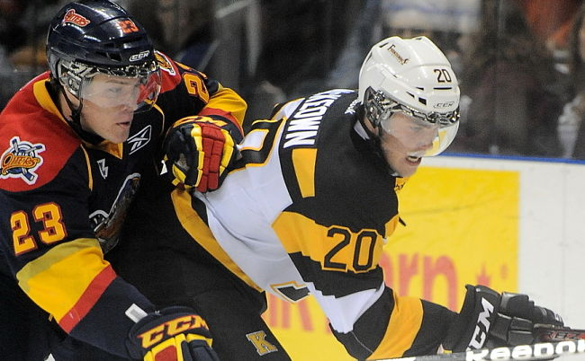 No. 2 overall pick Roland McKeown is off to a strong start in Kingston (OHL Images)