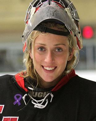 Female Goalie Peyton Parker Aspires To Play Junior A Hockey