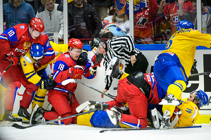 WJC: Pettersson Suspended, Saturday's Sweden-Russia Semifinal Marred