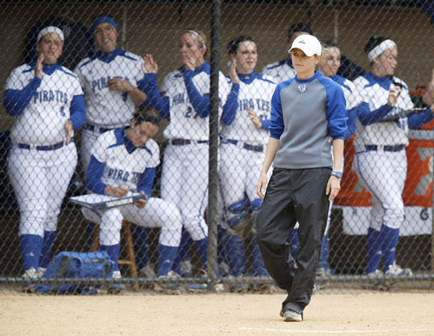 Seton Hall coach Paige Smith. (Via The Star-Ledger)