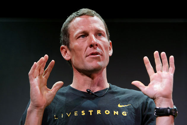 Lance Armstrong in 2009. (Getty Images)