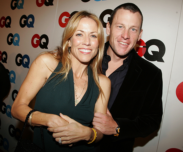 Sheryl Crow and Lance Armstrong in 2005. (Getty Images)