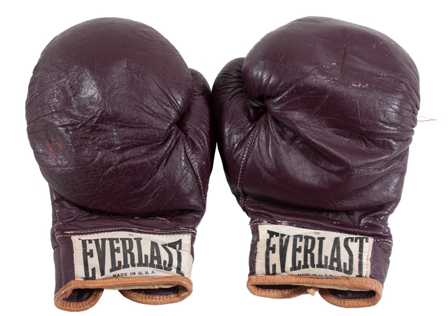 Angelo Dundee's estate is auctioning the gloves Muhammad Ali wore in his 1971 fight with Joe Frazier (Dundee Estate)