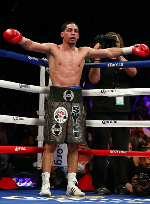 Danny Garcia is coming off a win over Zab Judah (Getty Images)