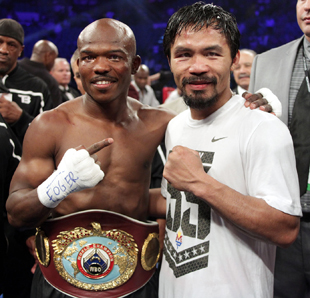 Timothy Bradley won a questionable decision over Manny Pacquiao (Chris Farina/Top Rank)