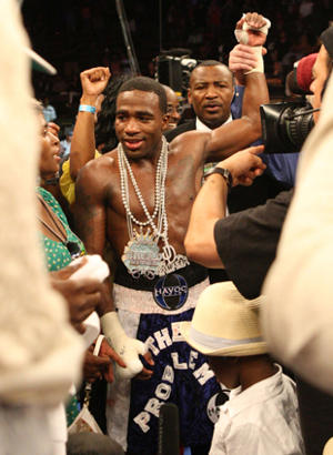 Adrien Broner attracted 1.4 million live viewers on HBO on Saturday. (AP)