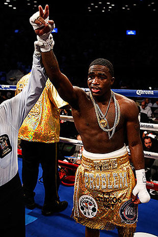 Broner is 27-0 with 22 KOs (Getty)