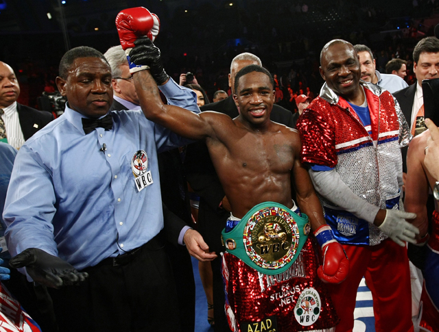 There are interesting fights for Adrien Broner from 135 through 147 (AP)