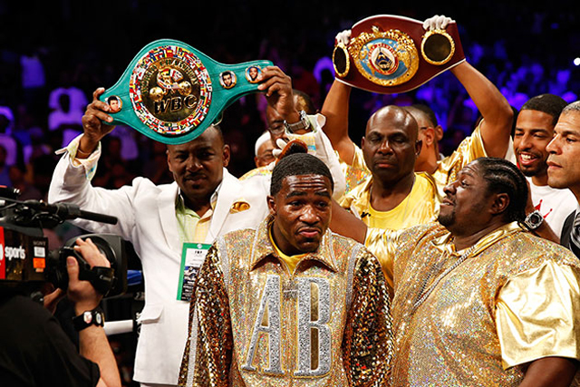 Adrien Broner has been the headliner in the two most-watched fights on cable in 2013 (Getty)