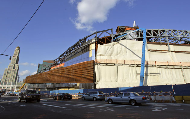 The Barclays Center will be home to the NBA's New Jersey Nets (AP)