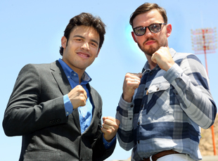 Julio Cesar Chavez Jr. and Andy Lee (Top Rank)