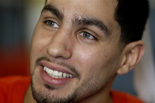 "WBA/WBC super lightweight champion Danny ""Swift"" Garcia (AP)"