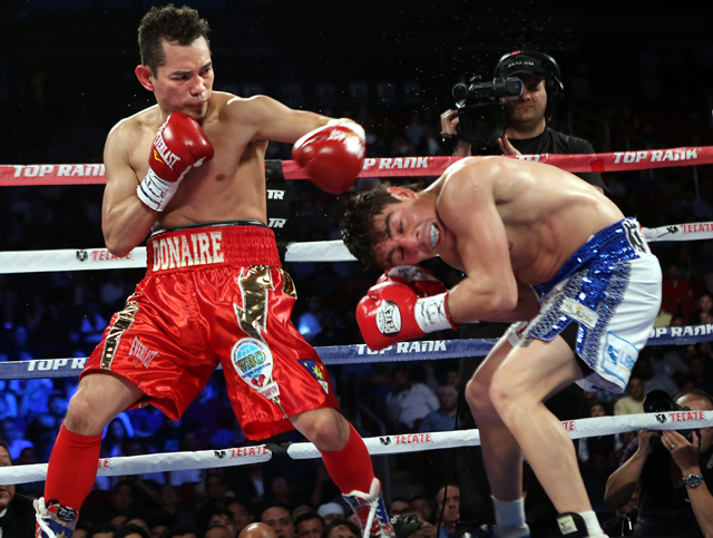2012 Y! Sports Fighter of the Year Nonito Donaire could headline in a potential UNLV stadium (Top Rank)