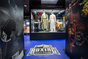 A view of the Boxing Hall of Fame Las Vegas (Courtesy photo)