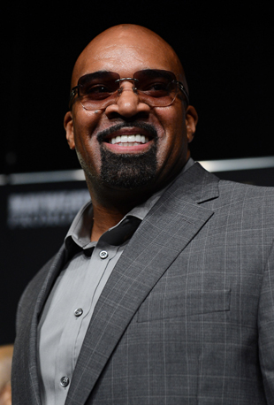 Leonard Ellerbe of Mayweather Promotions (Getty)