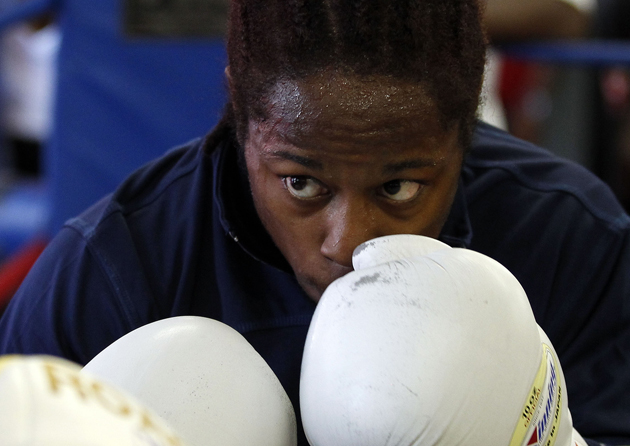 Flyweight Rau'Shee Warren represented the U.S. in 2004 and 2008, as well. (AP)