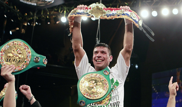 Boxer Sergio Martinez canceled a public workout due to threats and vandalism (AP)