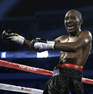 Terence Crawford drew 1.1 million people to see him fight Saturday on HBO (AP)
