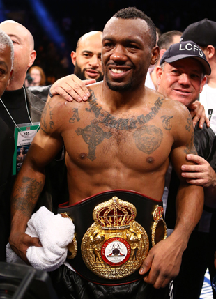 Austin Trout holds the WBA super welterweight title (Getty Images)