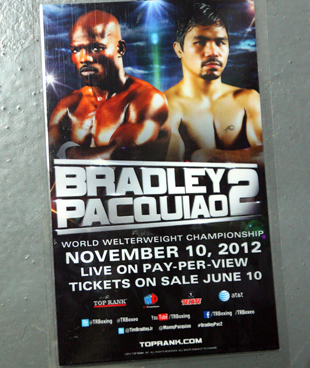 A fight credential altered by Timothy Bradley (Chris Farina/Top Rank)