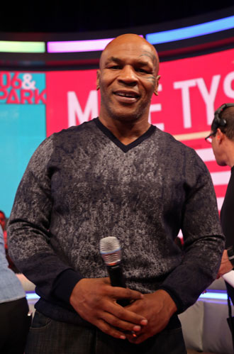Mike Tyson today. (Getty Images)