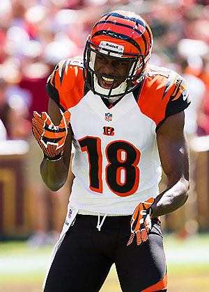 AJ Green gets us started with a moster play (US Presswire)