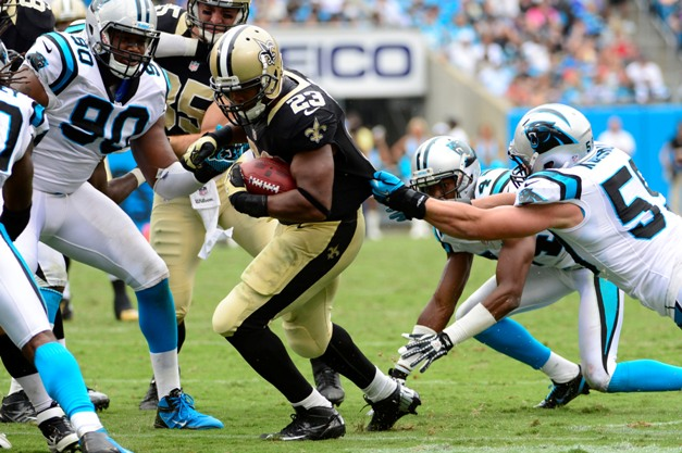 After dragging Panthers in Week 2, Thomas is cruising for a bruising versus KC (USP)