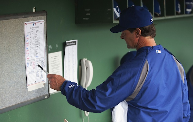 Donny Baseball is ready to fill out his lineup card. Are you? (US Presswire)