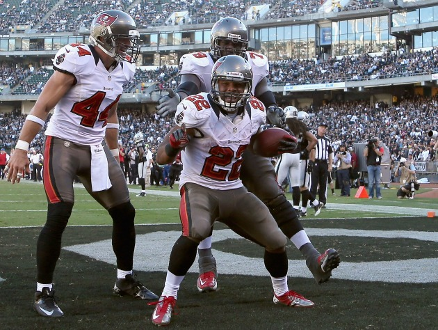 Doug Martin, top-of-draft fantasy asset (Getty)