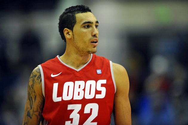 Dr. Drew and his fellow Lobos are ready to operate in the NCAA Tourney. (US PRESSWIRE)
