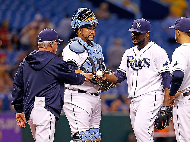 Not your night, Fernando Rodney (Getty)
