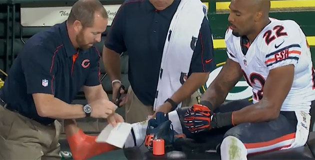 Matt Forte, post-sprain