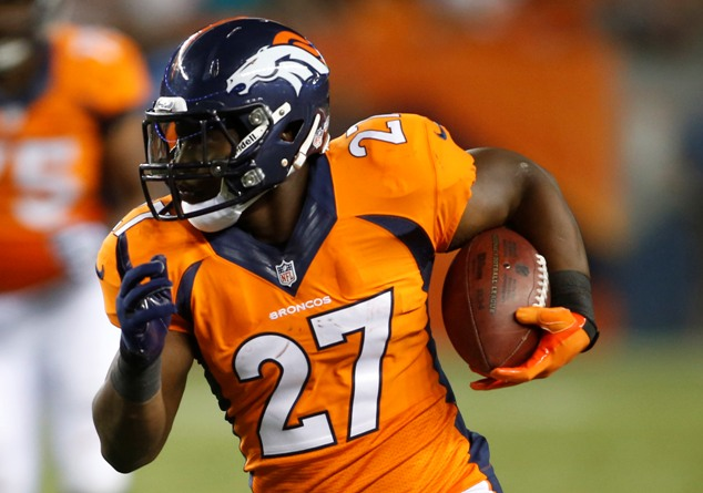 Knowshon, who averaged over 110 total yards per game as a starter last year, could be the Broncos back to own. (USAT)