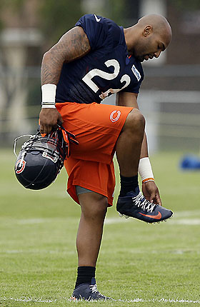 Matt Forte, perhaps not as sprained as we once thought (AP Images)