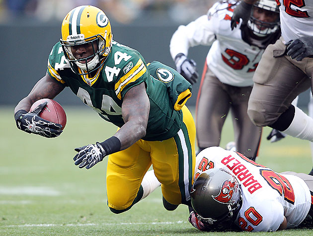 No, James Starks is probably not the answer, but you never know (Getty)