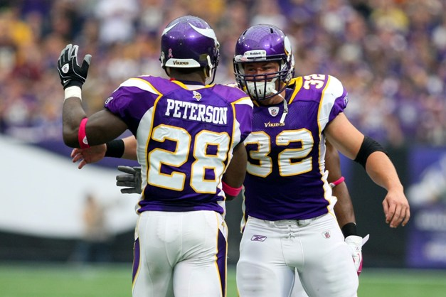 Peterson, Gerhart could become Minnesota's version of The Hart Foundation. (USP)