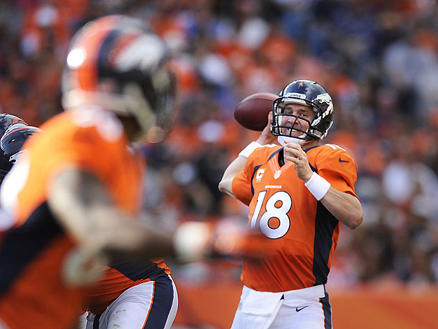 Peyton-to-Demaryius, profitable fantasy combo (Getty Images)
