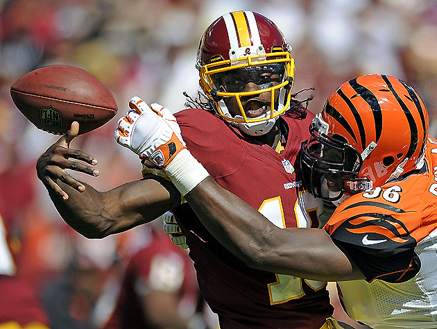 RGIII, fantasy trade chip (AP Images)