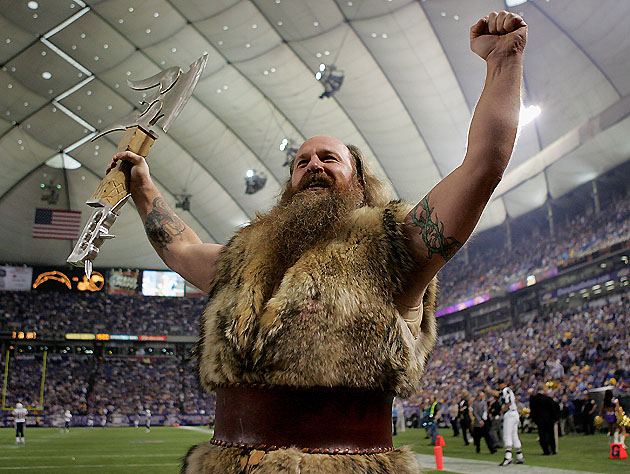 Ragnar, raising the roof (Getty Images)