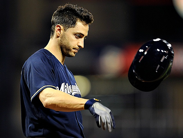 Ryan Braun, perhaps facing a loooonng suspension (Getty Images)