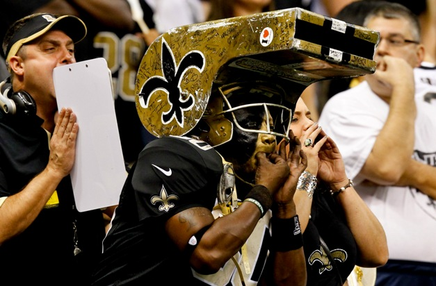 The Saints' 'Whistler' may need to trade in his hat for a paper bag with another NO loss. (USP)