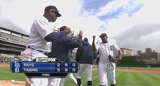 Tigers over Rays (MLB TV)