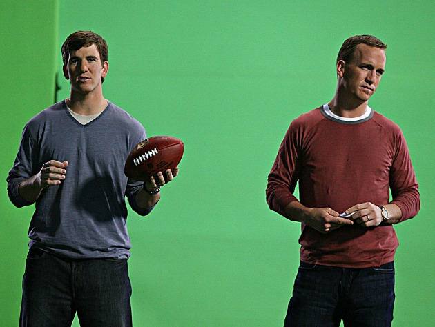 We ranked Eli higher, and Peyton's not happy (USP)