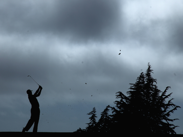 Tiger Woods at Pebble Beach / Getty Images