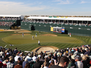 TPC Scottsdale's 16th hole / Getty Images