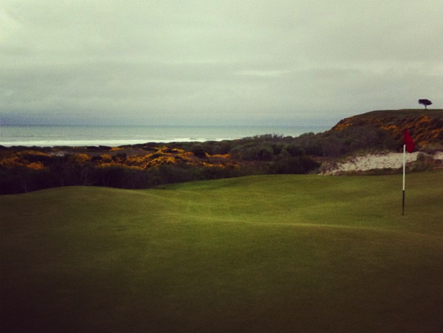A view from the picturesque sixth at Bandon Preserve. — jonathanrwall's Instagram