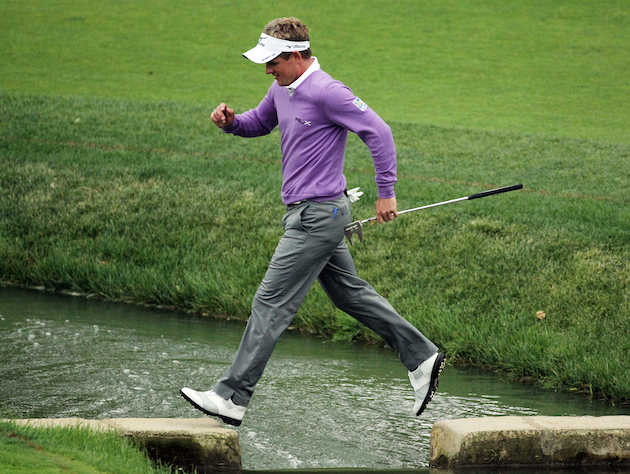 Is Luke Donald ready to take the major championship leap? (Getty Images)