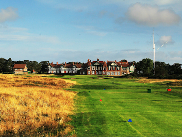 Royal Lytham and St Annes, site of the 2012 British Open. (Getty Images)