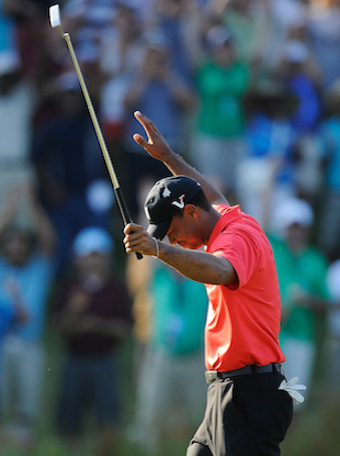 Tiger Woods, folks. (Getty Images)